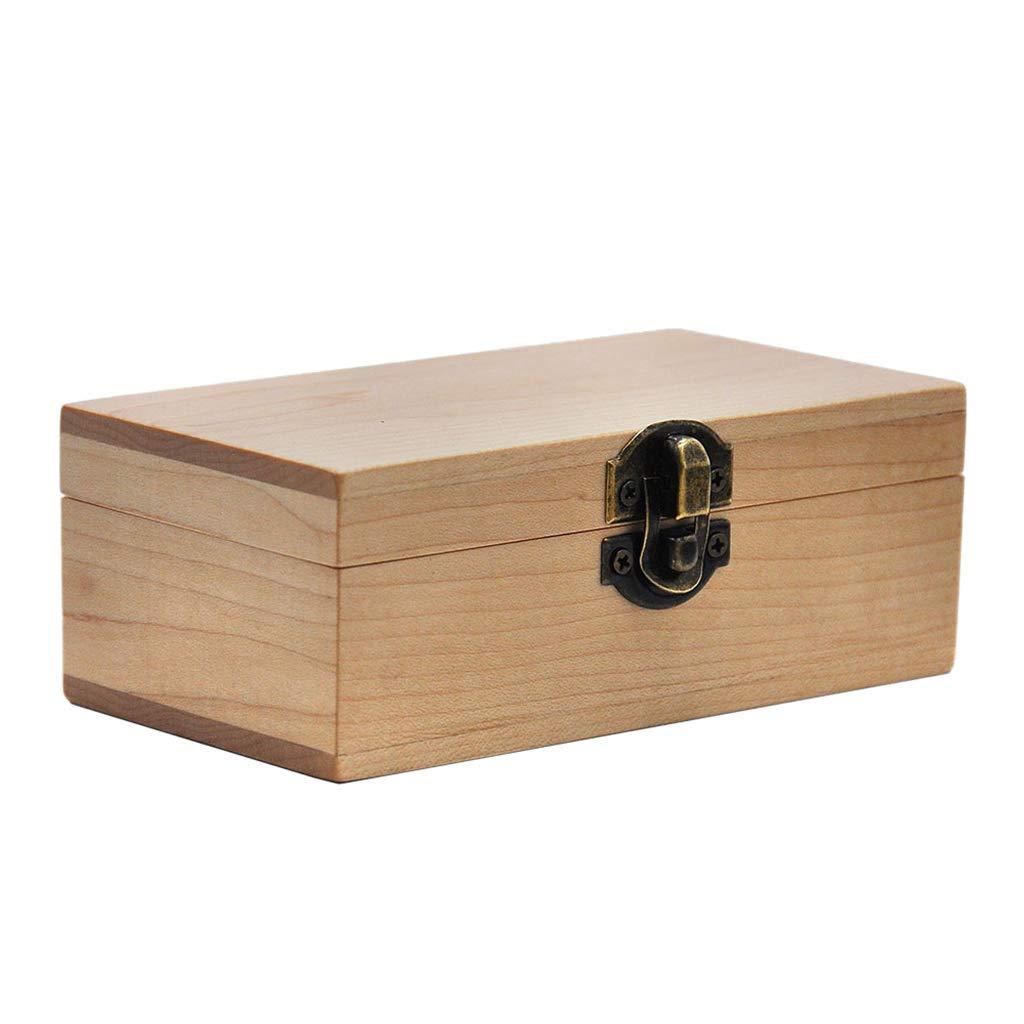 Caja de Madera Grande Cigarrillo Bandeja para Liar Almacenamiento Organizador de Tabaco y Hierbas - Madera, 136 x 71 x 50 mm: Amazon.es: Hogar