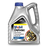 Mobil (112812-4PK) Delvac Synthetic Transmission Fluid 50 -...
