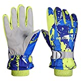 Aisprts Ski Gloves, Warmest Waterproof and Breathable Snow Gloves for Mens,Womens,Ladies and Kids Skiing,for...