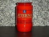 Aeterna 20x 3 Tage Grabkerze rot, Nr.3 | Grablicht, Öllicht, Grabschmuck, Grab