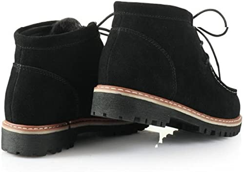 Bottes de neige pour femmes Gommage caoutchouc de loisirs Bottes Bottes chaudes d'hiver , noir , 42