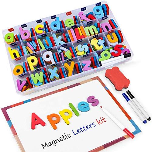 Letras Números Magnéticos Niños -216 Letras 20