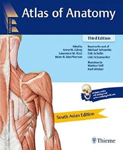 ATLAS OF ANATOMY (SAE) 3ED (PB 2017): South Asian Edition