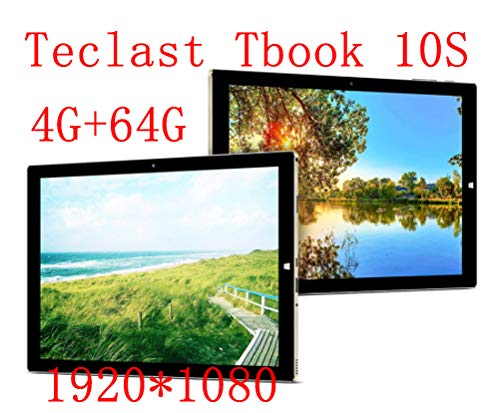 Teclast Tbook 10s 10.1  Tablet PC 2 in 1 Intel Cherry Trail Z8350 Quad Core Windows 10 + tablet Android 5.1 4G + 64G 1920 * 1200 IPS