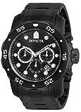 Invicta Analog Black Dial Men's Watch - 76