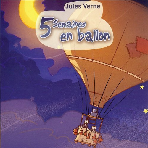 5 semaines en ballon  audiobook cover art