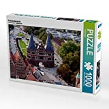 CALVENDO Puzzle Holstentorplatz 1000 Teile Lege-Größe 64 x 48 cm Foto-Puzzle Bild von U boeTtchEr