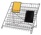 "SSWBasics 6-Tier Black Wire Countertop Rack - 22' H x 29½""W x 18' D"