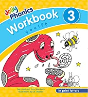 Jolly Phonics Workbook 3 in Print Letters