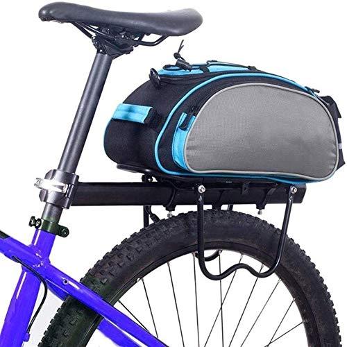 Z-Y Bolsas Bicicleta Asiento Multifuncional 13L Posterior de la Bicicleta Bolsa de Ciclo al Aire Libre Estante de la Bici Bolsa Posterior del Tronco del Asiento Trasero Pannier del Bolso