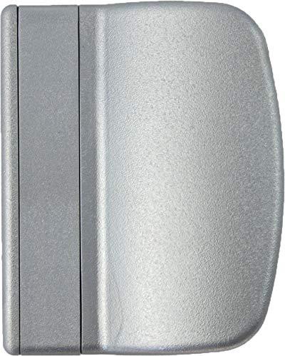 MS Beschläge® Balkontürgriff Terassentürgriff Ziehgriff aus Kunststoff in verschiedenen Farben (Silber)