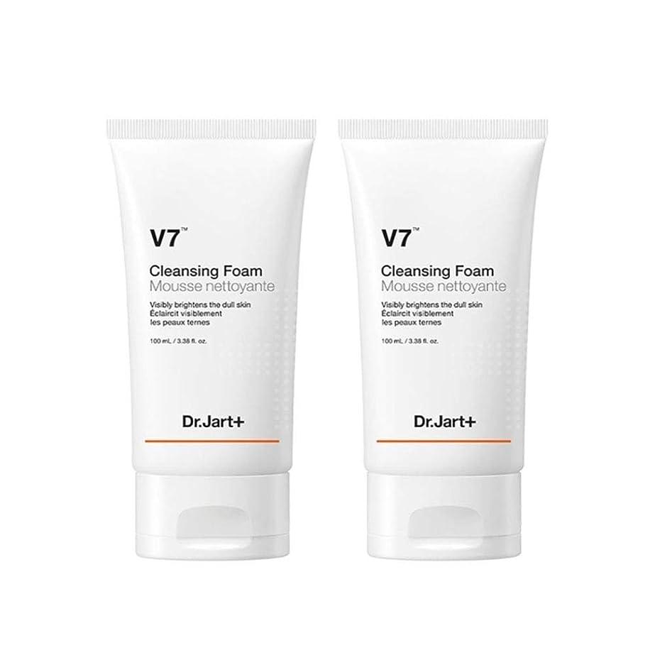 超越する価値のない活性化ドクタージャルトゥV7クレンジングフォーム100mlx2本セット韓国コスメ、Dr.Jart V7 Cleansing Foam 100ml x 2ea Set Korean Cosmetics [並行輸入品]