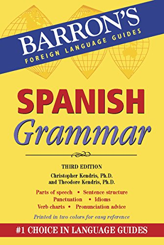 Spanish Grammar (Barron's Grammar Series)