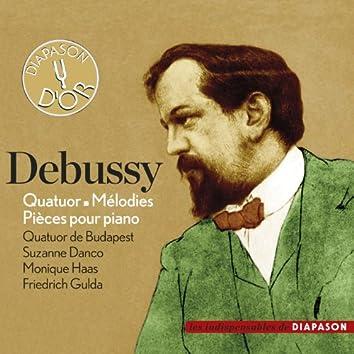 Debussy: Quatuor, Mélodies & Pièces pour piano (Les indispensables de Diapason)