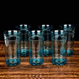 19 -Ounce Acrylic Premium Quality Plastic hammer Tumblers,plastic stemless drinking glasses,Set of 6...