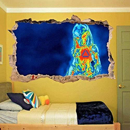 Pegatinas de pared Cámara termográfica ver etiqueta de la pared efecto 3D arte cartel calcomanía mural/vinilo arte mural
