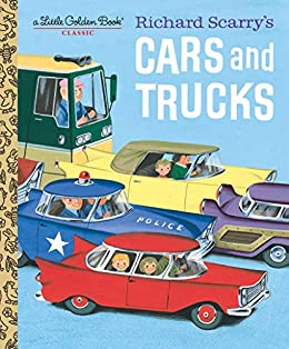 Richard Scarry's Cars and Trucks (Little Golden Book) by [Richard Scarry]