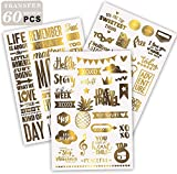 Limited Edition| Gold Scrapbooking Stickers, Scrapbooking...