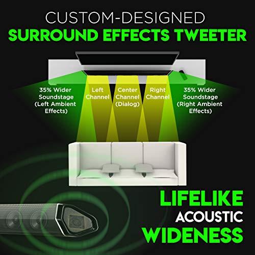 "Nakamichi Shockwafe Elite 7.2.4 Channel 800W Dolby Atmos Soundbar with Dual 8"" Subwoofers (Wireless)"