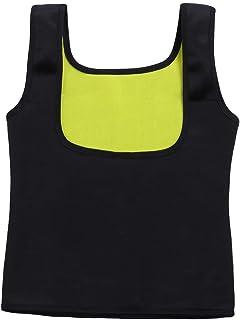 Corsets Women Waist Trainer Girdles Neoprene Vest Slimming Belt Waist Corset Sweat Sauna Body Shapers Fat Burner (Color : Black, Size : 6XL)