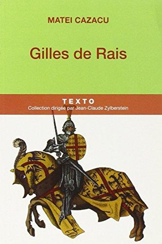 Gilles de Rais (Texto)
