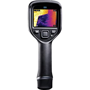 FLIR E6-XT - Handheld Infrared Camera - with Extended Temperature Range, MSX Image Enhancement Technology, Wi-Fi & Bluetooth for Instant Data Sharing - (240 x 180)