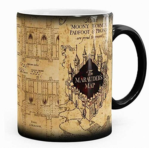 Harry Potter inspired Marauders map morphing mug color changing 11 oz ceramic mug by caseOrama