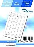 LabelOcean LO-0232-70-100 100 fogli da 70 g//mq Etichette universali carta di alta qualit/à
