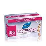 Phyto Phytocyane Trattamento Anticaduta in Fiale, Ottimale per la Caduta Occasionale dei Capelli da Donna, 12 Fiale da 7.5 ml
