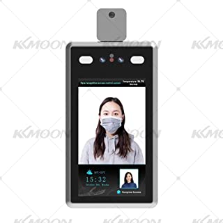 Nishore Face Recognition Temperature Measurement System Non-Contact Body Temperature Measurement for Company's Attendance Management and Temperature Monitoring,Entrance and Exit of Offices Factory