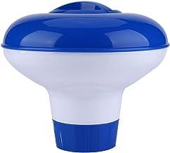 LJLCD Accesorios de Buceo Dispensador químico de Piscina Flotante eficiente Ofrece Cloro Flotante para Equipos de Piscina en Interiores y Exteriores Durable
