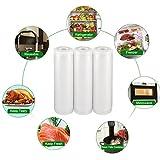 Zoom IMG-1 sacchetti per sottovuoto termosigillabili imballaggio