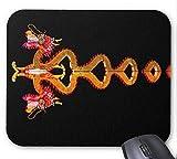 Yanteng Costura de precisión, Alfombrilla de ratón para Juegos Duradera, Alfombrilla de ratón...