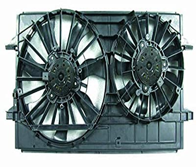 DEPO 335-55014-000 Replacement Engine Cooling Fan Assembly (This product is an aftermarket product. It is not created or sold by the OE car company)