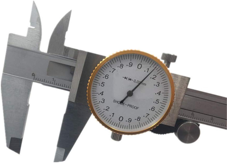 Werewtr Metric Gauge Measuring Tool Dial Caliper 0150Mm 0.02Mm ShockProof Stainless Steel Precision Vernier Caliper Ht1420