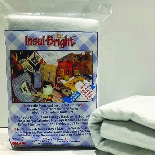 "Insul-Bright Needlepunched Insulated Lining -45"" x 1 yard"
