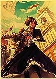 Aawerzhonda Póster de Lienzo Juego de Disparos Bioshock Infinite Retro Poster Vintage Poster decoración de la Pared para el hogar Bar Cafe para habitación de niños 60x90cm