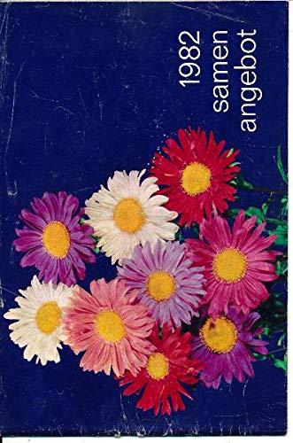 Samenangebot 82 Versandhaus Samen und Pflanzen