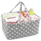 LinStyle Cesta para pañales de bebé, Pañalera, Bolsa organizadora para...