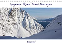 Lyngener Alpen Nord-Norwegen (Wandkalender 2022 DIN A4 quer): Die Lyngener Alpen im norwegischen Winter (Monatskalender, 14 Seiten )