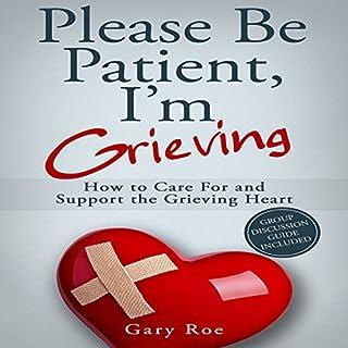 Please Be Patient, I'm Grieving cover art
