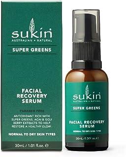 SUKIN Super Greens Facial Recovery Serum, 30 ml