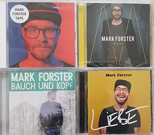 incl. Liebe; Wir sind groß; Zu dir (Weit weg) - Mark Forster 4 CD Album Exklusiv MEGA SET Alle Hits