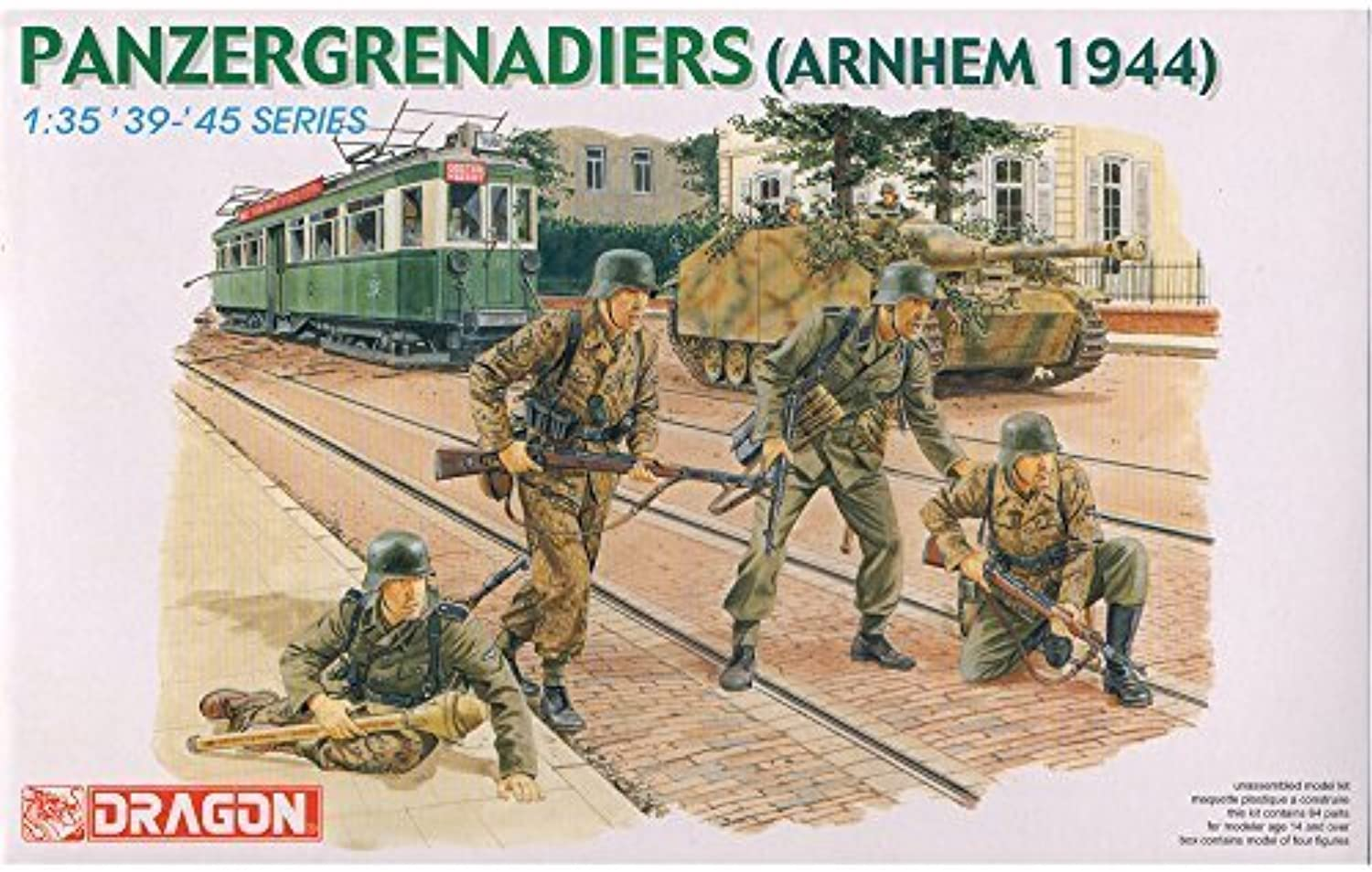 Dragon 1 35 Panzergrenadiers (arnhem 1944)   6161 by Dragon Models USA