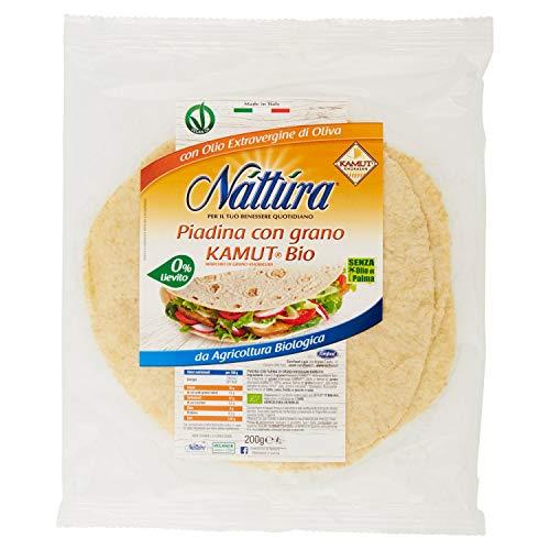 Eurofood Piadina con Grano Kamut Bio senza Lievito - 200 gr