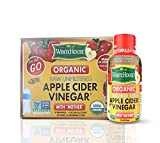 White House Organic Apple Cider Vinegar Shots - Raw Unfiltered - On the Go (2oz, 6ct)