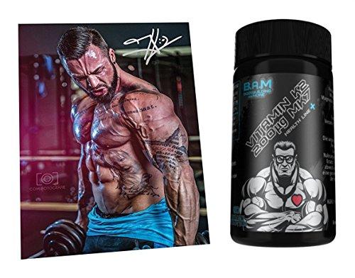 Fan Edition B.A.M. Aminosäure Aminos Supplement Fitness Bodybuilding (Vitamin D3) …