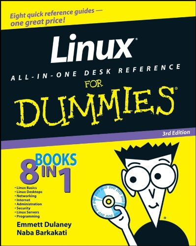 Linux All-in-One Desk Reference For Dummies (English Edition)