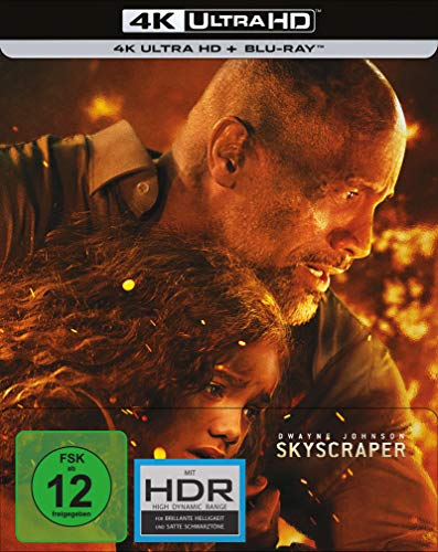 Skyscraper - Limited Steelbook (4K Ultra HD) (+ Blu-ray 2D) (exklusiv bei amazon.de)