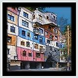 Germanposters Hundertwasser Hundertwasserhaus Wien Poster